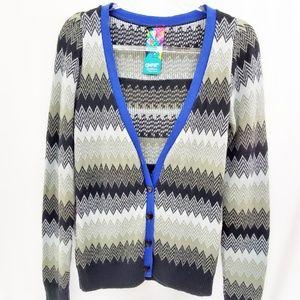 COMPLOT Argentina Grunge Sweater Cardigan Heart
